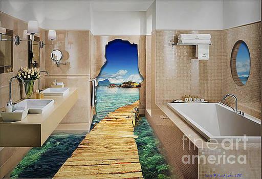 Surrealistic Bathroom by Lutz Roland Lehn
