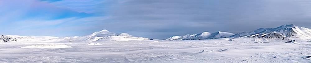 Svalbard Panorama by Kai Mueller