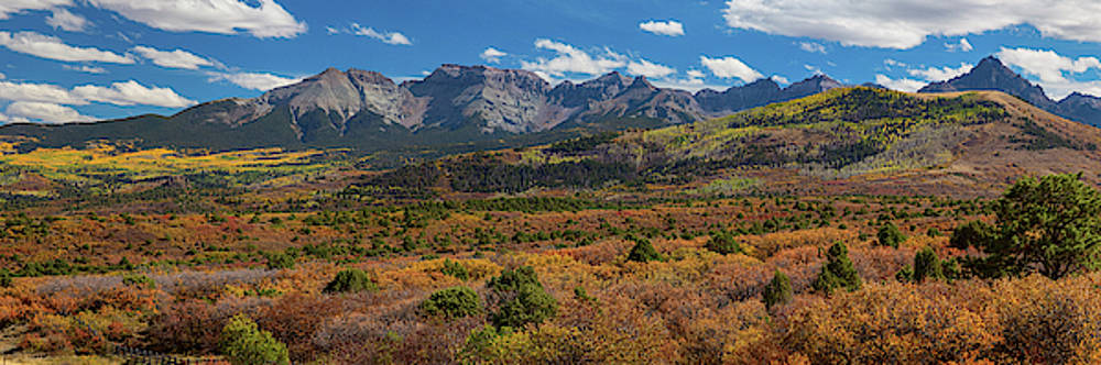 James BO Insogna - SW Autumn Colorado Rocky Mountains Panoramic View Pt1