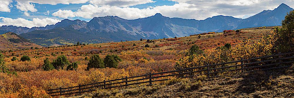 James BO Insogna - SW Autumn Colorado Rocky Mountains Panoramic View Pt2