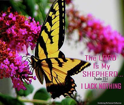 Swallowtail Psalm 23 1 by Art By ONYX
