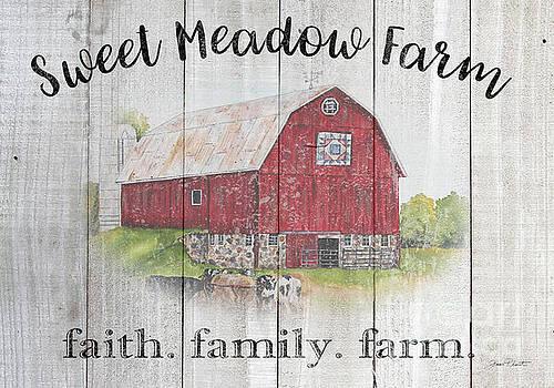 Sweet Meadow Farm B by Jean Plout