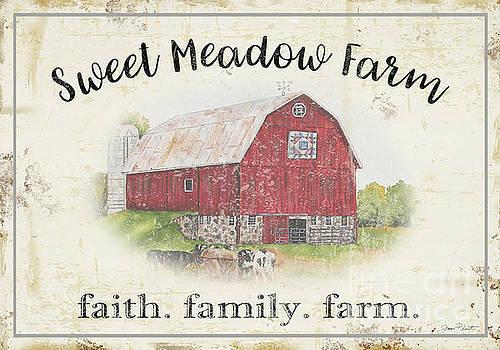 Sweet Meadow Farm A by Jean Plout