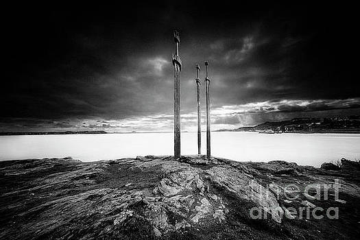 Sword in rock by Erik Brede