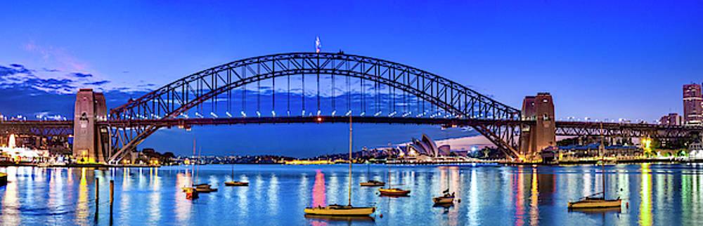 Sydney Harbour Brilliance by Sean Davey