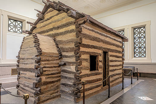 Susan Rissi Tregoning - Symbolic Cabin at the First Lincoln Memorial