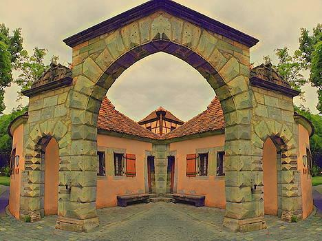Symmetrical Archway by Angel Eowyn