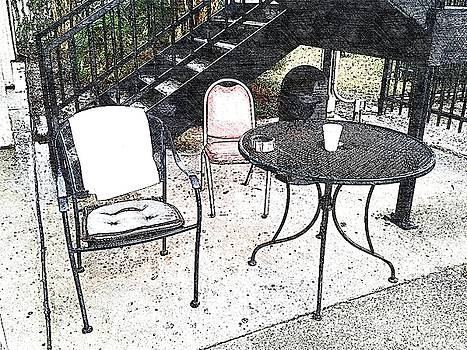 Table and Chairs by Lan Kwon