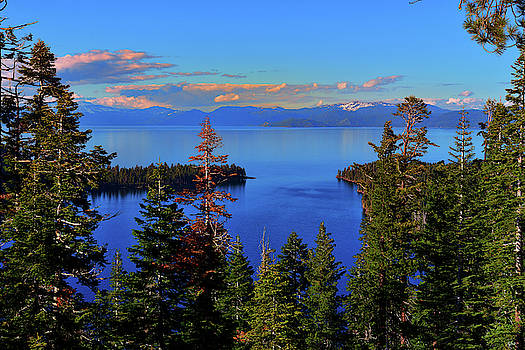 Tahoe Evening Calm by Greg Norrell