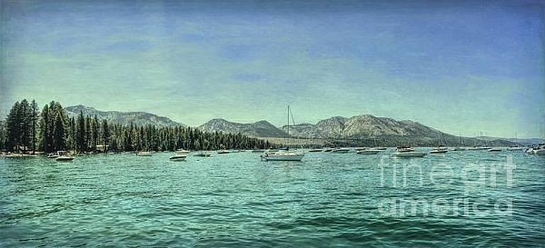 Tahoe Marina Textured by Joe Lach