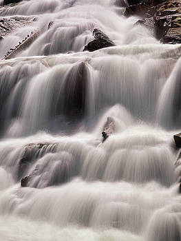 Tahoe Waterfall by Martin Gollery