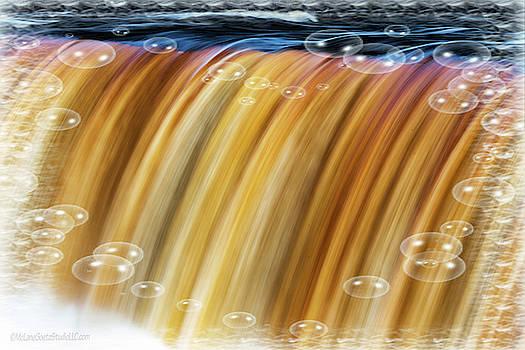 Tahquamenon Upper Falls Bubbles by LeeAnn McLaneGoetz McLaneGoetzStudioLLCcom
