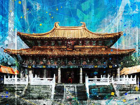 Taichung Confucian Temple by Andrea Gatti