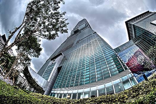 Taipei 101 Fisheye by Russ Barneveld