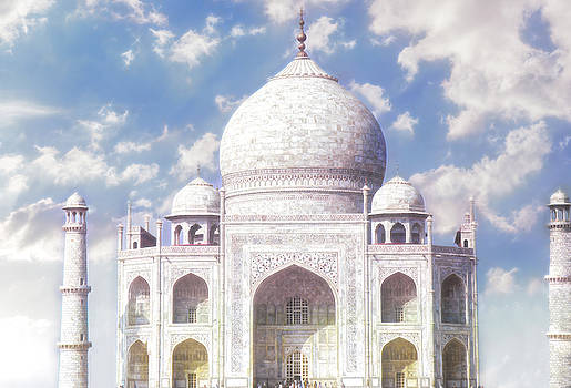 Taj Mahal - Crown of the Palaces by Christina Ford