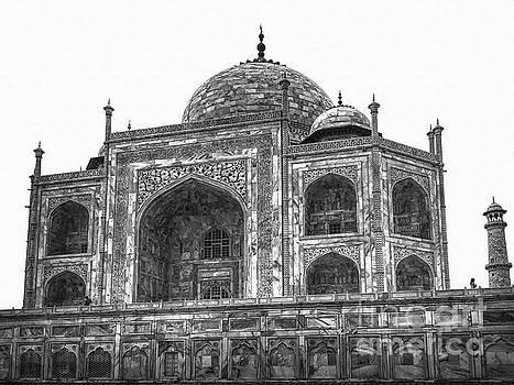 Taj Mahal by Stefano Senise