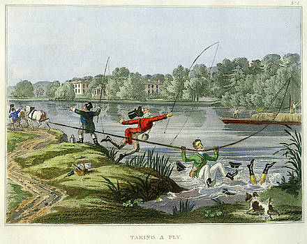 Taking a Fly by unsigned attributed to Edward Barnard