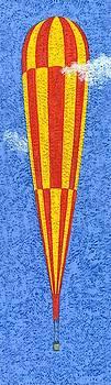 Tall balloons three Wall Art by Brian James