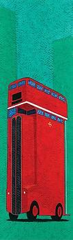 Tall bus Wall Art by Brian James