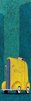Tall car Wall Art by Brian James