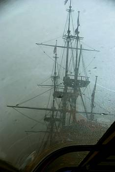 Tall Ship in Bad Weather by Eric Tressler
