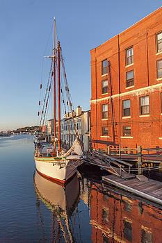 Cliff Wassmann - Tall Ship in Mystic Connecticut
