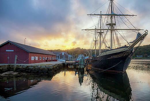 Cliff Wassmann - Tall Ship in Mystic Seaport