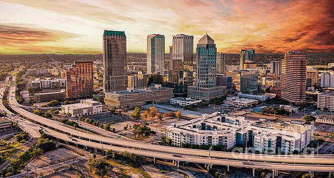 Tampa Downtown by Randy Kostichka