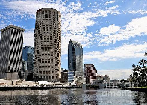 Diann Fisher - Tampa From The River
