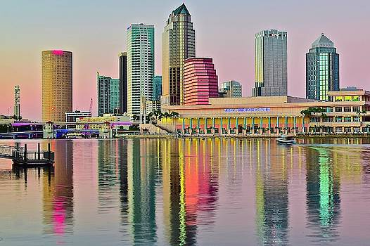 Frozen in Time Fine Art Photography - Tampa in Vivid Color