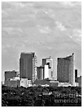 Diann Fisher - Tampa Triptych No 1 BW