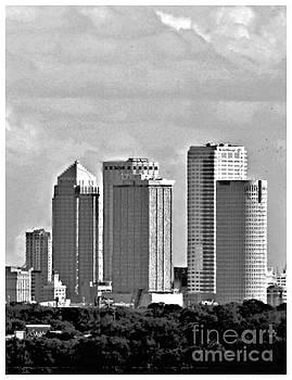 Diann Fisher - Tampa Triptych No 2 BW