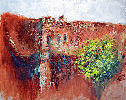 Taragarh Fort - Bundi series 11 by Uma Krishnamoorthy