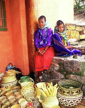 Tarahumara Girls by Bruce Herman