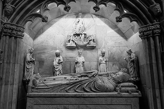 Tarragona Cathedral Spain Mausoleum by Joan Carroll