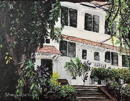 Tavernilla Street Balboa Panama Canal Zone House by Sharon De Vore
