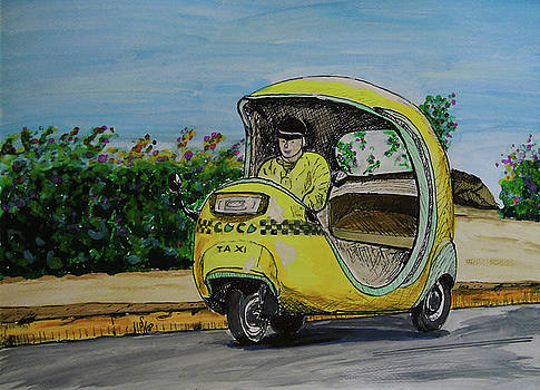Taxi by Maria Woithofer
