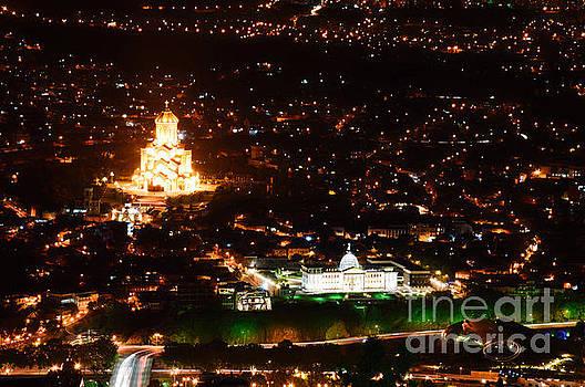 Tbilisi by night by Yavor Mihaylov