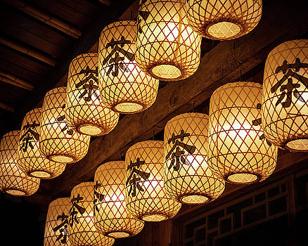 Tea Lanterns by William Dickman