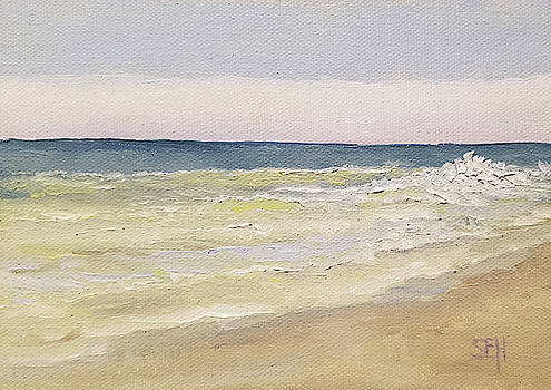 Teal Horizon by Susan E Hanna
