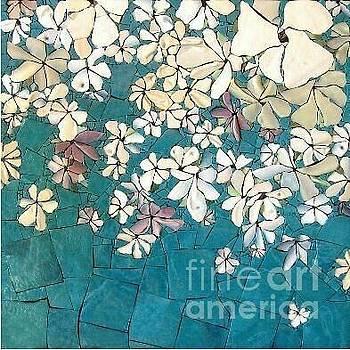 tealGold/fleurs by Kasey Jones