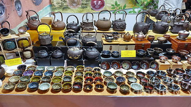 Teapots and Teacups for Sale by Yali Shi