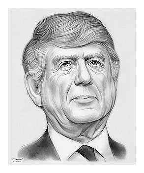 Ted Koppel by Greg Joens