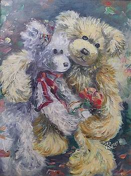Teddy Bear Honeymooon by Ryn Shell