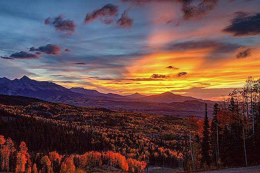 Teluride Sunset by Jim Allsopp