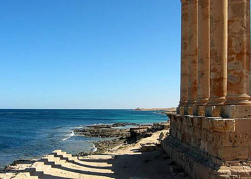 Temple Of Isis, Sabratha, Libya by Joe & Clair Carnegie / Libyan Soup