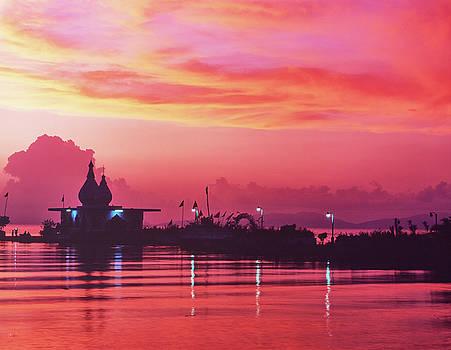 Temple on the Sea by Trinidad Dreamscape