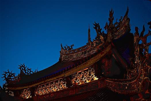 Temple Roof by Russ Barneveld