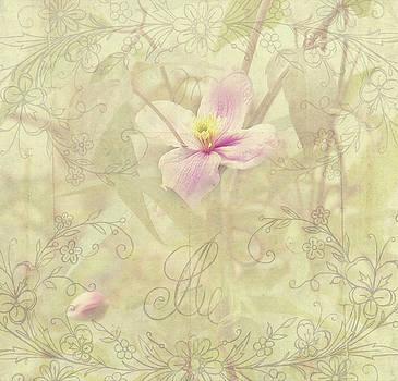 Jenny Rainbow - Tender Flower from Secret Garden. Shabby Chic