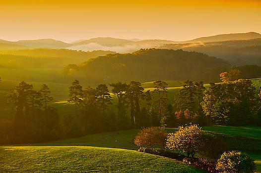 Smokey Mountain Sunrise by Tom Gresham